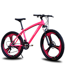 High quality and high equipment Mountain bike road disc brake system high-intensity suspension 21/24/27 speed 26 inch