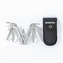 WORKPRO 16 in1 Multi Tools Plier Stainless Steel Plier Outdoor Camping Tools