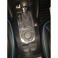 Carbon Interieurlijsten Decoratie Onderdelen Bedieningspanelen (w/o motor start gat) voor Audi A3 S3 2014up 10 stks/set LHD ALLEEN|fiber carbon|carbon interiorcarbon fiber audi -