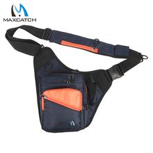 Maximumcatch Waterproof Fishing Tackle Bag Fishing Bag Shoulder & Chest Sling Bagpack
