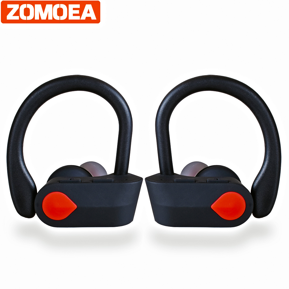 bluetooth headphones wireless headphone earbuds sports bass gaming earphone with microphone for phone Auriculares noise canceli смартфон fly fs523 cirrus 16 lte black