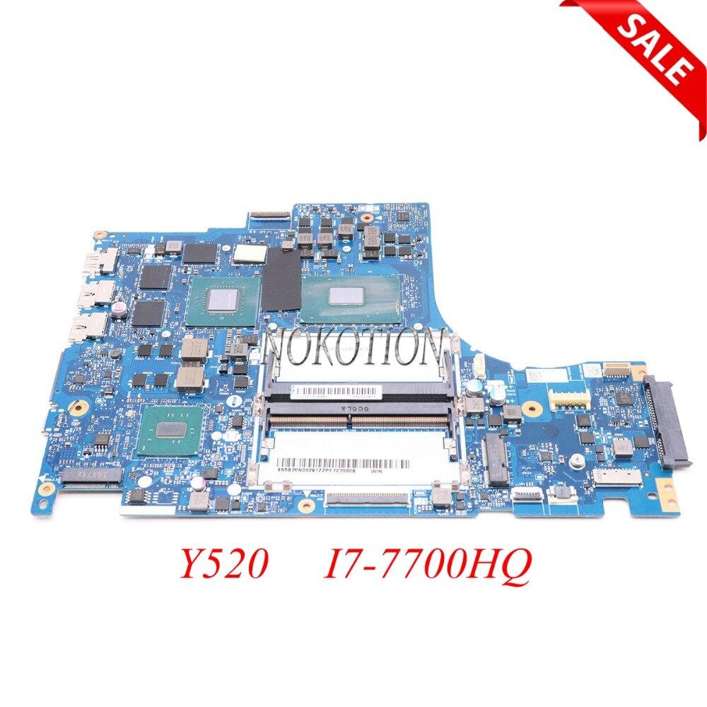 все цены на NOKOTION DY512 NM-B191 Main board for lenovo Y520 laptop motherboard 15.6