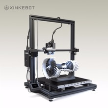 Large 3D Printer Dual Extruder Auto Leveling Big Heated Bed Xinkebot Orca2 Cygnus Desktop DIY 3D Printer Kit 400x400x500mm Volum