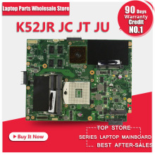 K52JU Laptop Motherboard Mainboard for ASUS K52JT,K52J,K52JC,A52J,X52JC X52J K52JE with HD6370 512M DDR3