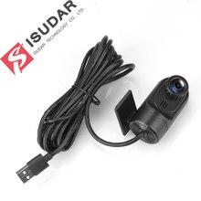 Isudar Allwinner T3 T8 Auto Anteriore Della Macchina Fotografica video recorder DVR USB Per Android A30 Car Multimedia player GPS
