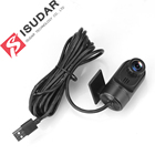 Isudar Allwinner T3 T8 Car Front Camera video recorder USB DVR For Android A30 Car Multimedia player GPS