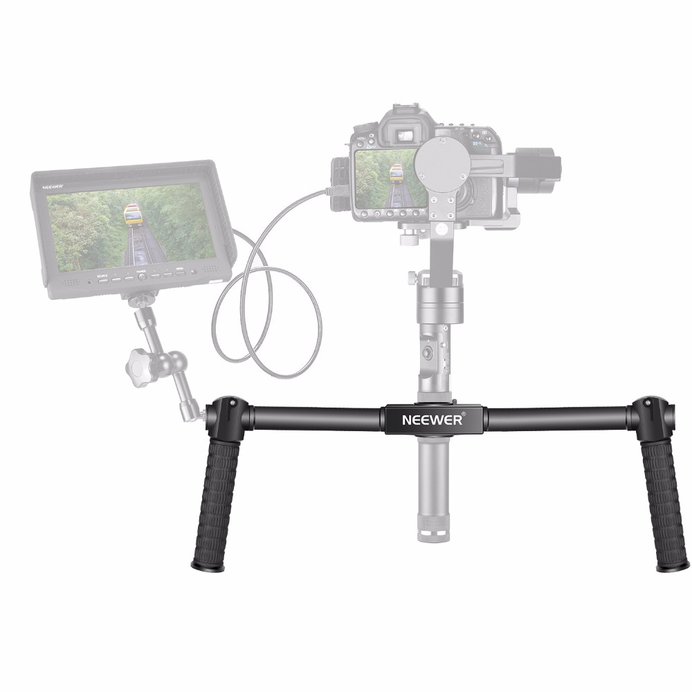 Neewer Dual Handheld Grip for Neewer Zhiyun Crane M 3-Axis Handheld Stabilizer 1.5 ft / 46.5 cm Non-slip Durable Camera Gimbal puerh 357g puer tea chinese tea raw pu erh sheng pu er free shippingtd39 page 5