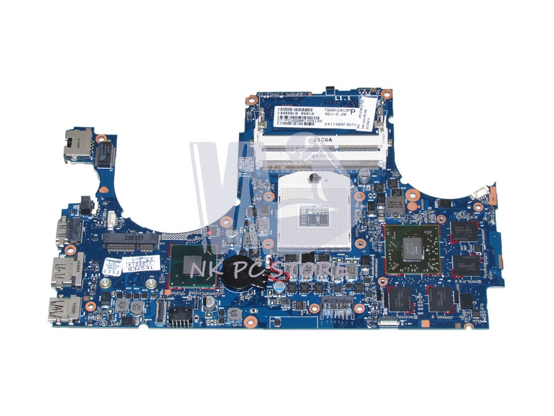 679814-001 Laptop Motherboard For HP Envy 15-3200 15-3000 Main Board HM76 DDR3 ATI HD7750M Discrete Graphics laptop motherboard for hp envy15 3000 668847 001 hm65 amd hd 6750m ddr3