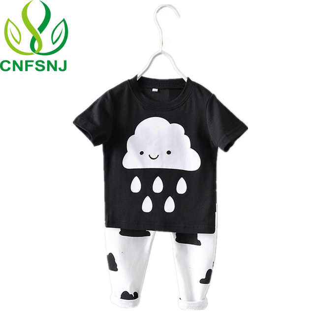 51363a716 CNFSNJ Hot Sale Baby Girl Boy Clothes New 2017 Spring Newborn Baby s ...