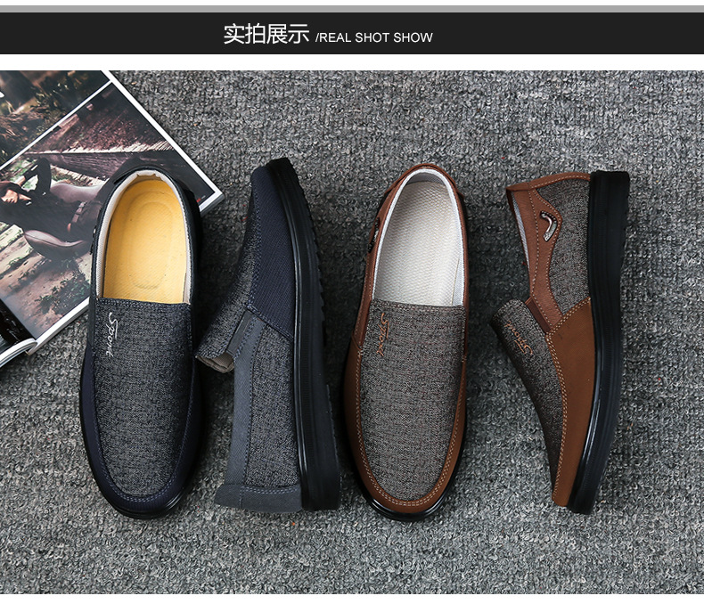 HTB1KWc9aEjrK1RkHFNRq6ySvpXah 2018 New Arrival Spring Summer Comfortable Casual Shoes Mens Canvas Shoes For Men Comfort Shoes Brand Fashion Flat Loafers Shoe