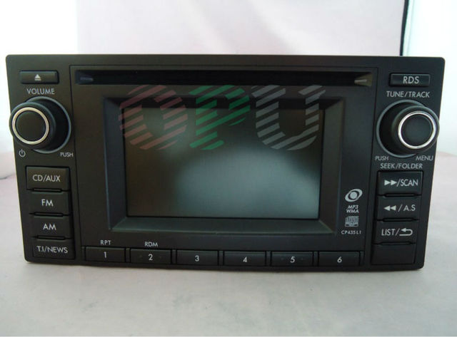 86201SC430 Clarion CD player PF-3304B-A for 2012 Forester OEM car radio WMA MP3 USB Bluetooth Tuner