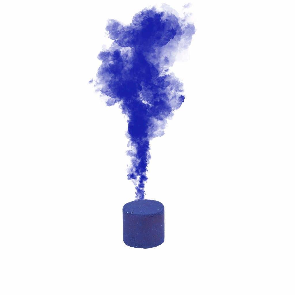 Nova 1/6 pcs Efeito Show de Bolo de Fumaça Fumaça Colorida Rodada Bomba Stage Fotografia Ajuda Multicolor Decoração Ferramentas # h