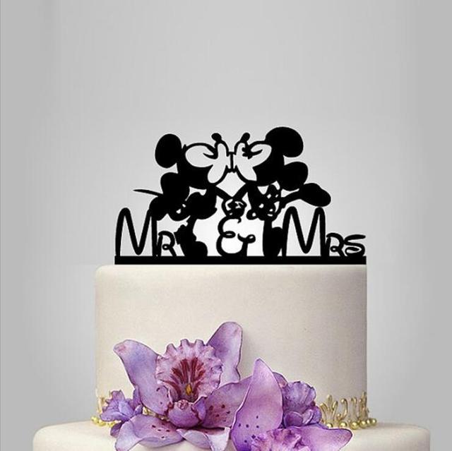Aliexpress.com : Buy Free Shipping Acrylic Mickey And Minnie Wedding ...