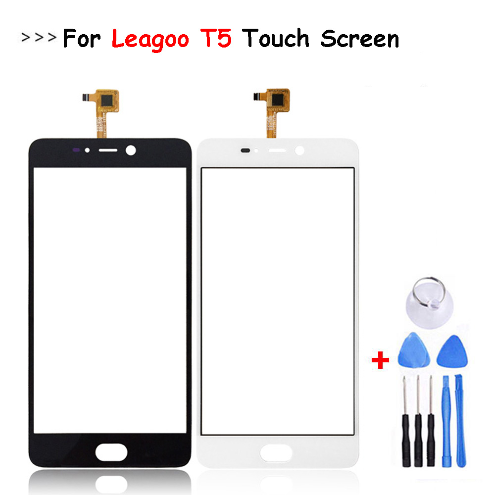 For Leagoo T5 Touch Panel Sensor Touch Screen Digitizer Replacement For Leagoo T5 Touch+Tools Free Shipping