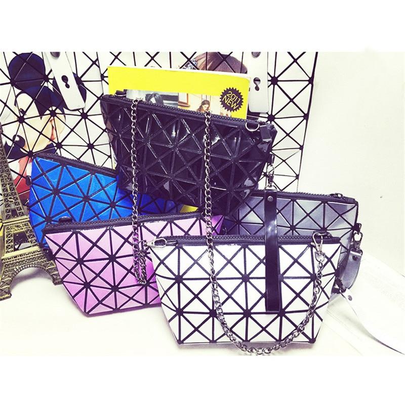 geométrica goint xadrez tote sacolas Leather Bags Women : Split Joint Shoulder Plaid Bag Perfect Large Tote;bolsos Mujer