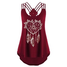 pink women tank tops festival clothing 2019 good vibes plus size for woman hollow out sexy top