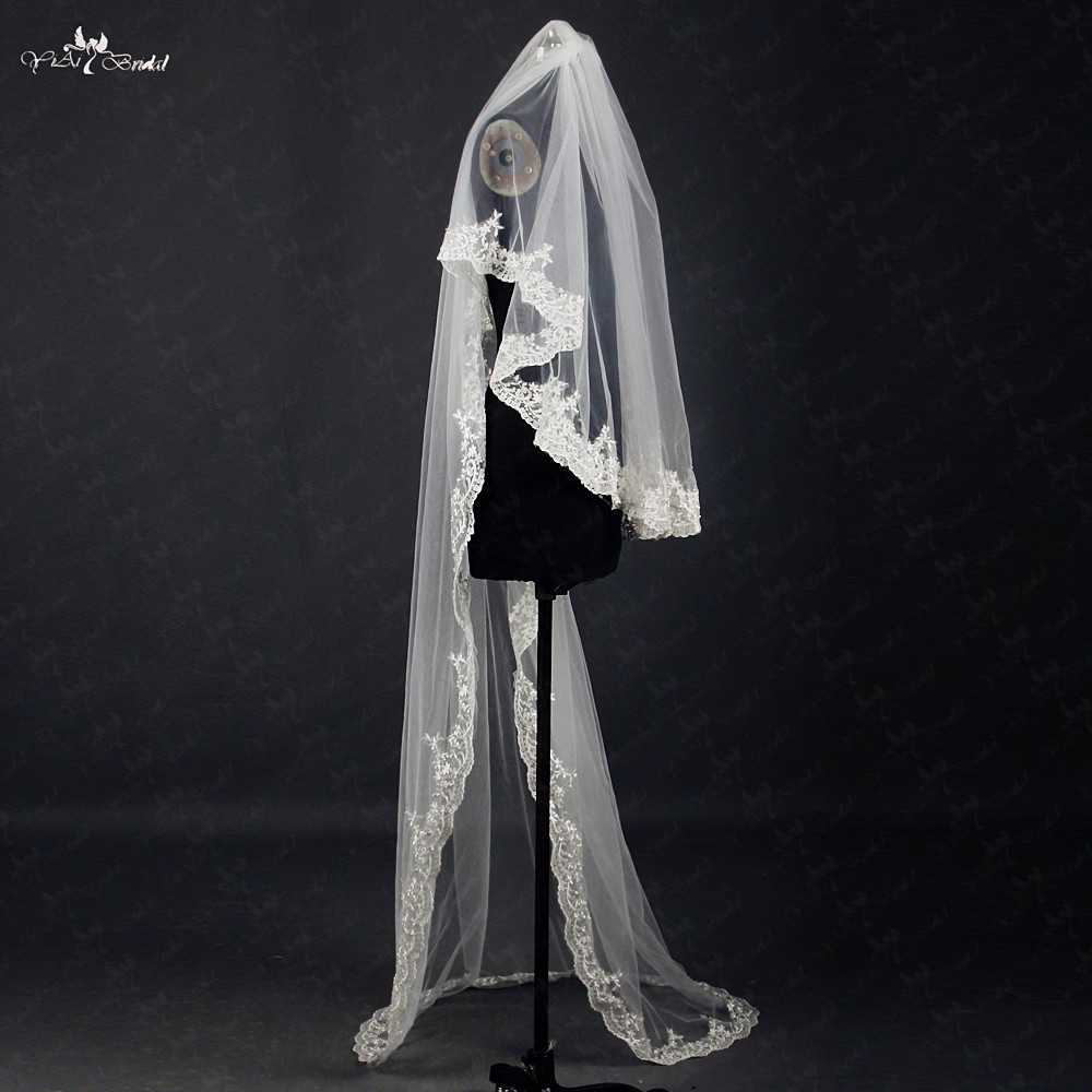 RSV Short And Long Layer Bridal Face Veil