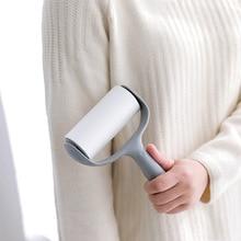 1pcs Lint Sticking Roller ล้างทำความสะอาดได้ฝุ่น Wiper Roller สำหรับเสื้อกันหนาวเสื้อผ้าทำความสะอาด Remover ผมสัตว์เลี้ยงฝุ่น Wiper เครื่องมือ