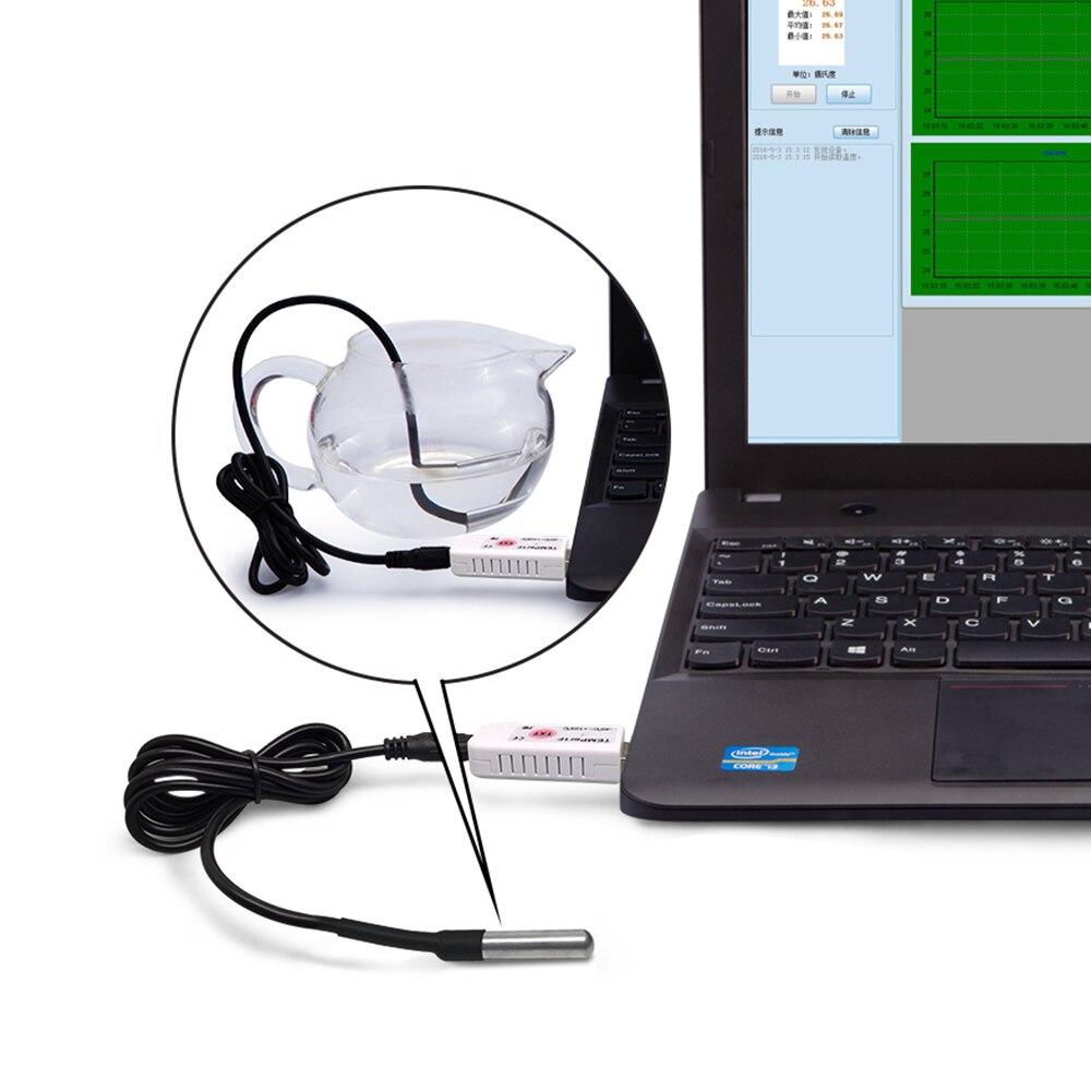 Image 5 - PCsensor USB Thermometer Temperature Sensor Data Logger Recorder  for PC Laptop Whiteusb thermometerthermometer usbusb thermometer  temperature recorder
