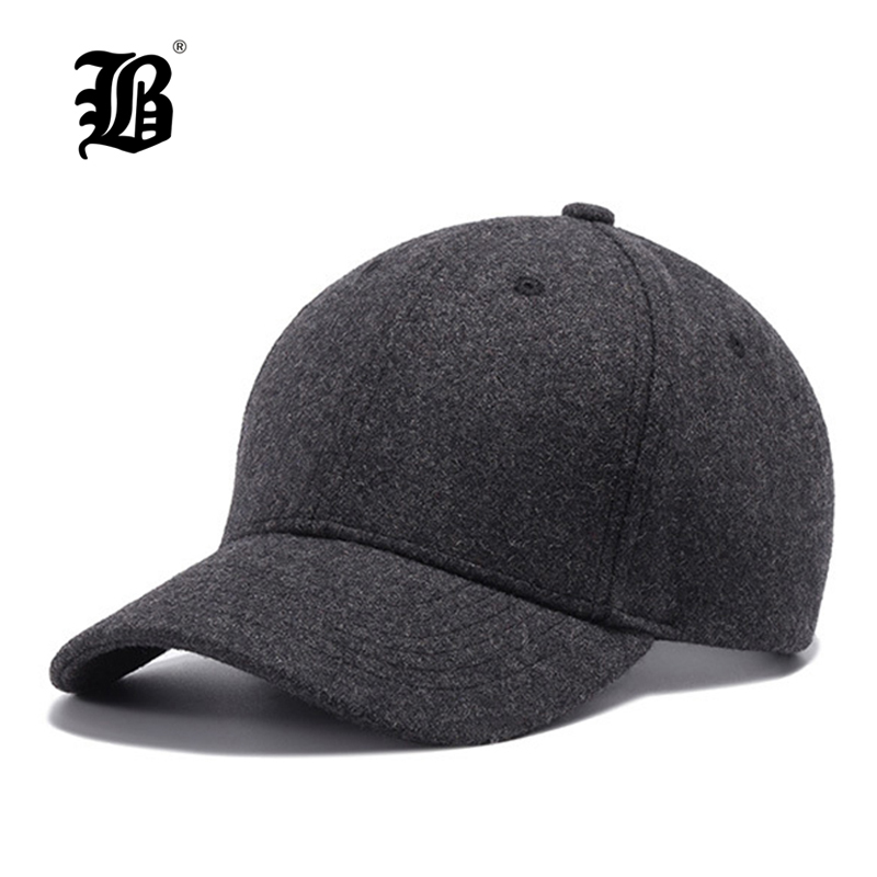[FLB]  Autumn And Winter Baseball Cap Cotton warm Sports Solid hats leaf sport cap for men and women Father's Best Gifts Hats 2017 new lace beanies hats for women skullies baggy cap autumn winter russia designer skullies