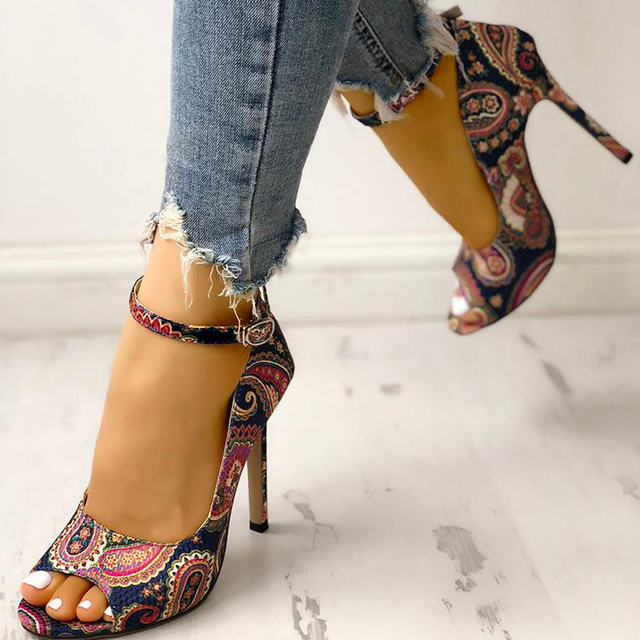 New Womens Fashion Summer Sexy Exquisite High Heels Ladies Increased Stiletto Super Peep Toe Sandals