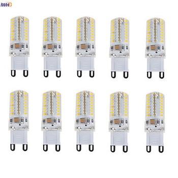 цена на IWHD 2.5W E14 LED Bulb G9 220V Dimmable 64xsmd3014 G9 LED 220V Bi-pin Lights Replace Halogen Warm White White 110v-220v