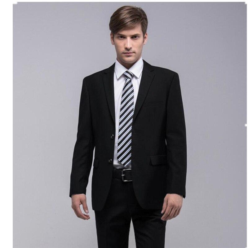 Aliexpress.com : Buy men suits Hot sale of pure black men business ...