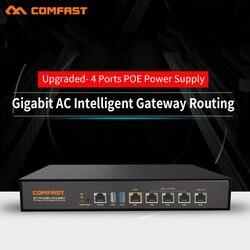 2019 Comfast CF-AC101 pełny Gigabit AC + przełącznik poe brama Routing Multi WAN bilans obciążenia 4 port poe Wifi projekt AC router wi-fi