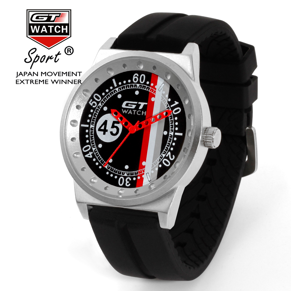 GT Luxury Brand Sport Wrist Watch Men Watch F1 Watches Silicone Men's Watch Clock erkek kol saati relogio masculino reloj hombre gt watch uas flag f1 racing champion sport extreme men s military pilot uhren american inspired novelties silicone watch