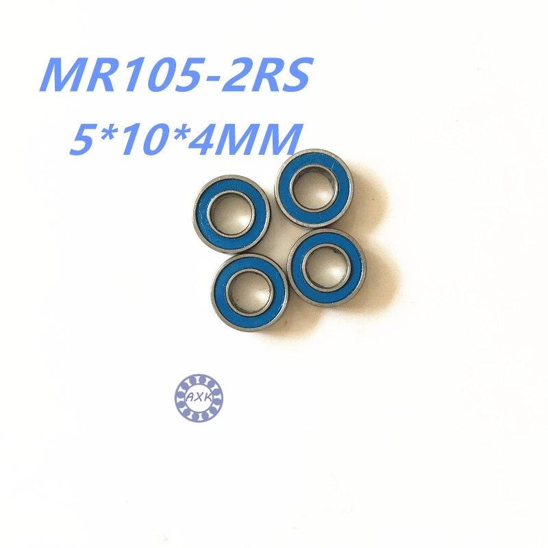 все цены на 2017 hot ! free shipping  MR105ZZ  MR105-2RS  5*10*4MM  P6  MR105ZZ mini ball  bearing