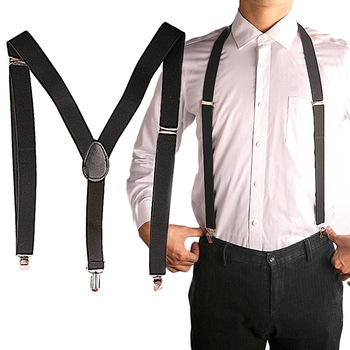 2019 New Men XL Learge Size High Elastic Suspenders Adjustable Elastic X Back Women Child Baby Pants Braces Suspenders