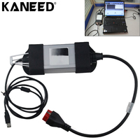 For Renaul diagnostic interface tool full chips Renault CAN Clip V143 Latest Version diagnostic Interface Tool Multi language