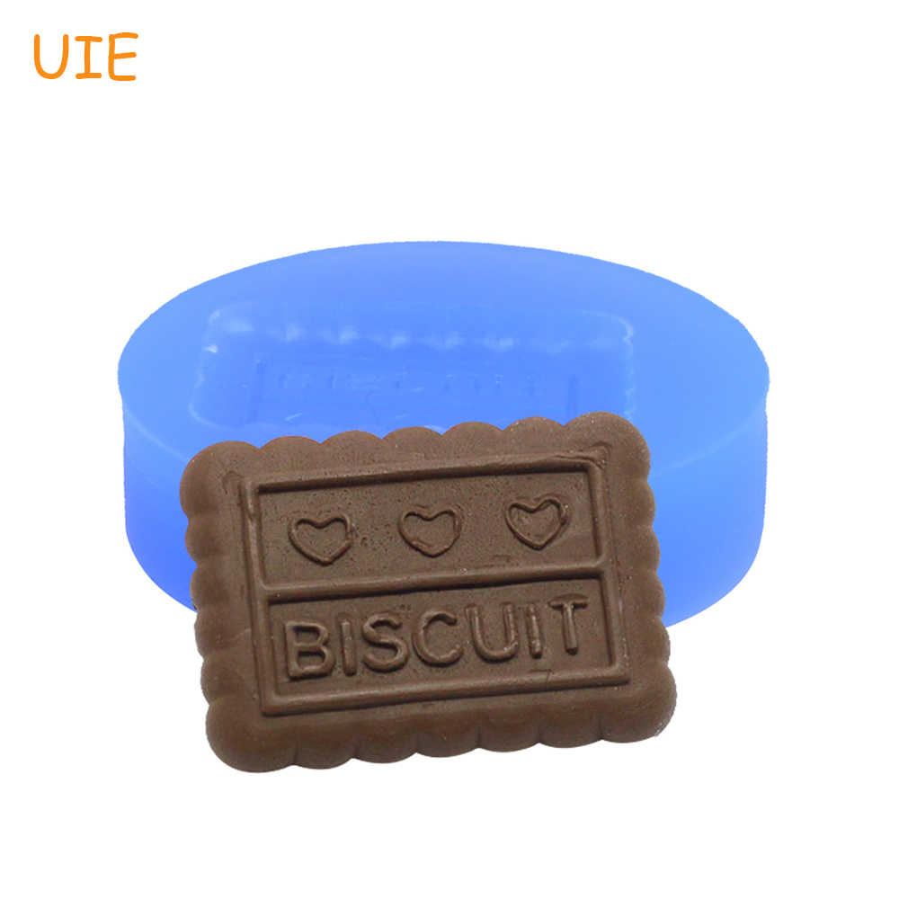 QYL047U Biscuit Mold Flexible Silicone Mold Miniature Sweets Fimo Mold Polymer Clay Wax Kitsch Jewelry Cabochon