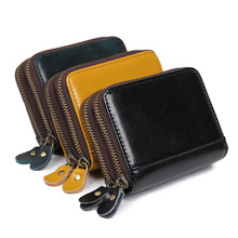 J.M.D Leather Men Wallets Multi-Functional Cowhide Coin Purse Genuine Wallet For R-8438