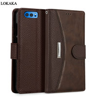 For Huawei Honor 9 Case Dirt Resistant Luxury PU Leather Wallet Flip Card Holder 5 15