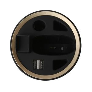 Image 4 - شاحن متعدد الوظائف بتصميم منفضة سجائر من مادة ABS لشاحن سيارة شامل IQOS 2.4 & Plus