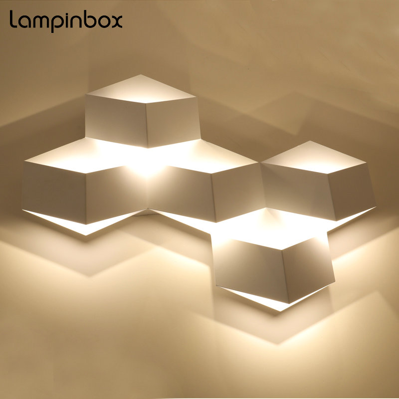 Creative Simple Wall Lamp Bedside LED Indoor lighting Living Room Light Hallway Aisle Staircase Modern Fashion Wall Lamps LP-031