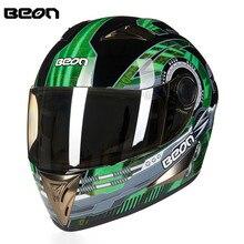 New Arrival ECE Motorcycle Helmet Racing Full Face Helmet B5004 Moto Casque Casco motocicleta Capacete Kask helmets Chrome Visor