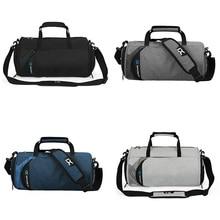 Мужская Водонепроницаемая спортивная сумка, независимая обувь, карман, многофункциональная походная сумка через плечо, прочная сумка на ремне, дорожные сумки