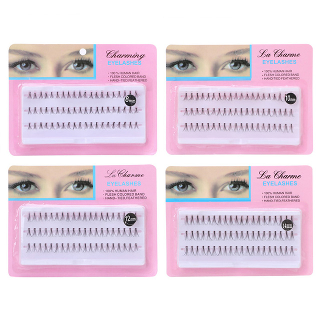 e5799bf69ef 8mm/10mm/12mm/14mm Eyelashes make up tools 3D Volume Individual Blink Lash