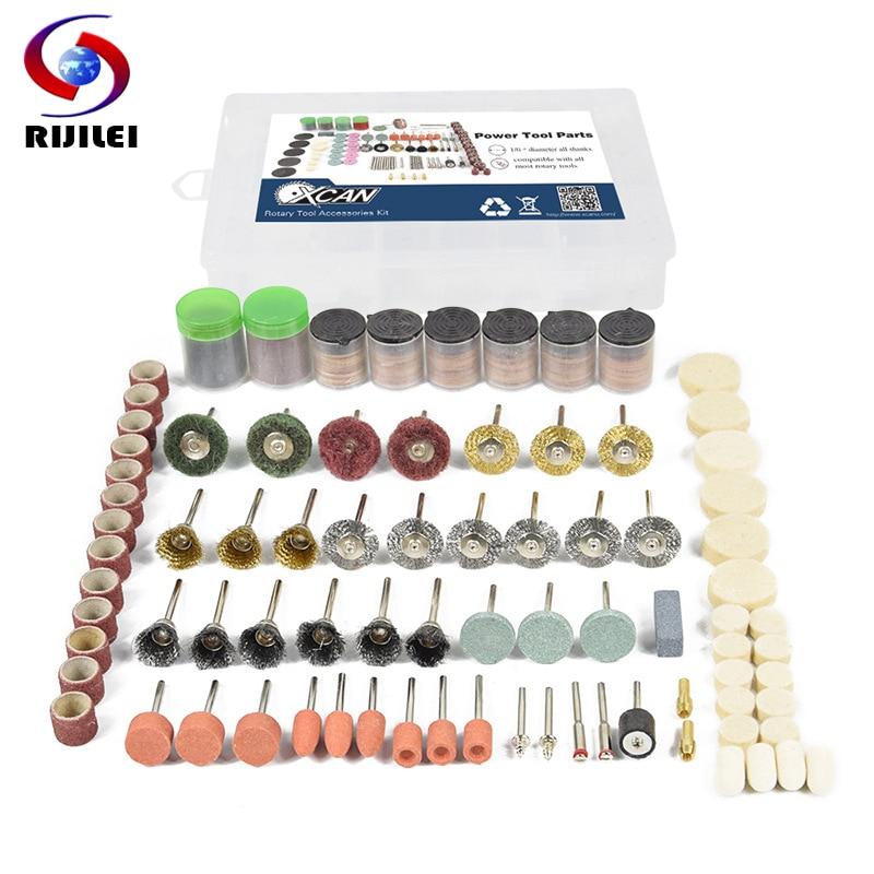 RIJILEI 327PCS BIT SET SUIT MINI DRILL ROTARY TOOL & FIT DREMEL Grinding,Carving,Polishing Tool Sets,grinder Head,Sanding Disc
