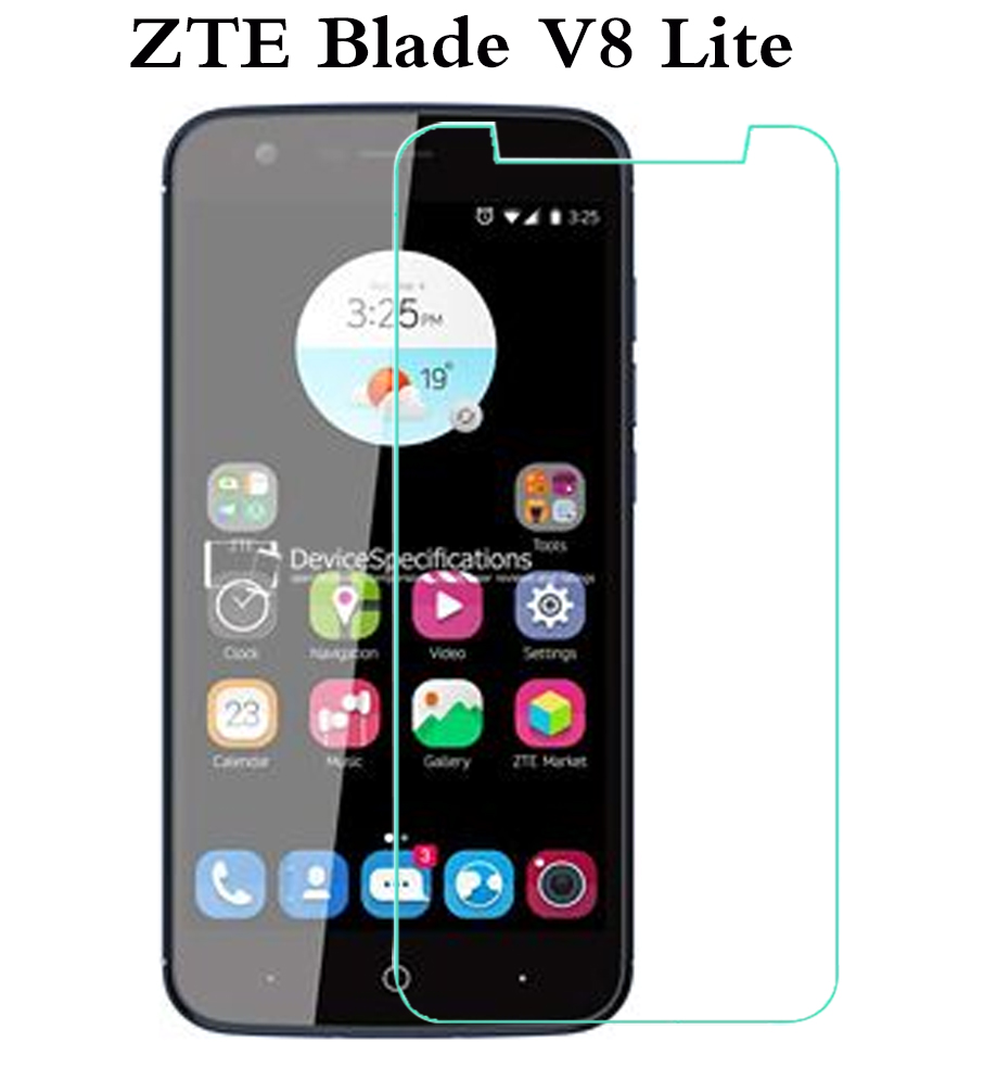 Tempered Glass For ZTE Blade V8 Lite V7 Lite V8 Mini A520C Screen Protector Protective Film On Mobile Phone Glass