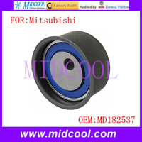 New Engine Timing Belt Tensioner Pulley use OE No. MD182537 for Mitsubishi Eclipse Galant Outlander Montero Sport Expo