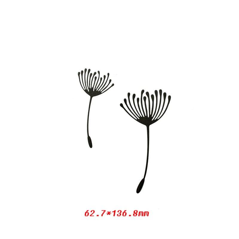 Васильковые травы эвкалиптовая ветка цветы металлические Вырубные штампы для поделок скрапбукинга бумажные открытки, декоративные поделки новые штампы - Цвет: picture 1