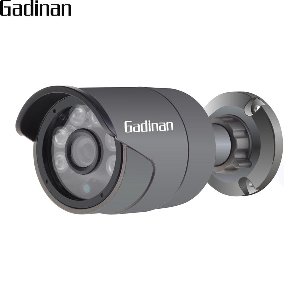 GADINAN CMOS 1000TVL 6 Array IR LEDs Security Bullet CCTV Camera 3.6mm Wide Angle Lens IR-Cut Filter Outdoor Waterproof Camera 1000tvl 1 7 2 1 2 8 3 6 6 8 12 16mm m12 lens 650nm ir cut filter mini cmos 139 pcb cctv wide angle 2 8 12mm analog camera