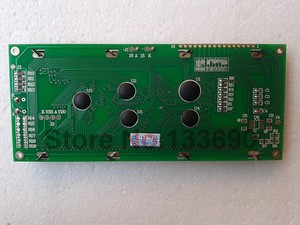 Image 3 - 5v larger LCD 2004 20*4 20x4 largest character Yellow green screen 204 lcd display module 146*62.5mm HD44780 wh2004l AC204B