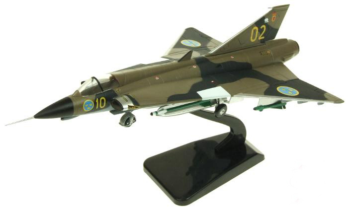 AVI 72 1/72 Swedish Saab J35 fighter model AV7241002 Alloy aircraft scale model Favorite Model With original box rare gemini jets 1 72 cessna 172 n53417 sporty s flight school alloy aircraft model collection model