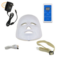 LED Photon Therapy Red Blue Green Light Treatment Rejuvenation Photodynamics Mask Daily Beauty Skin Care