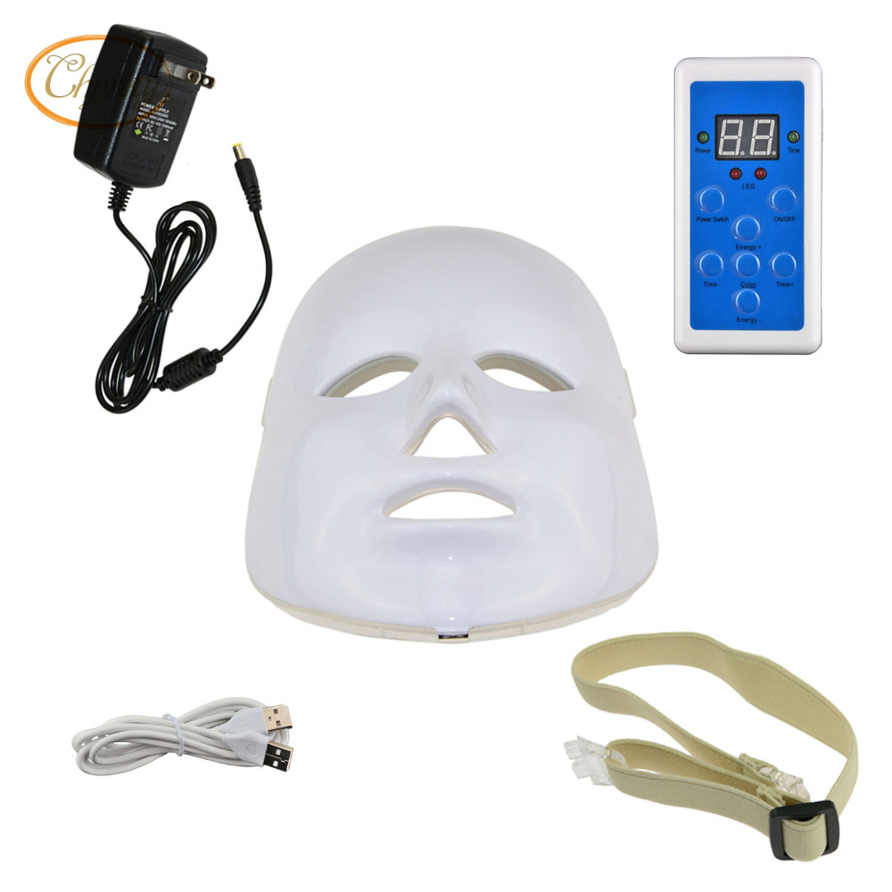 LED Photon Therapy Red Blue Green Light Treatment Rejuvenation Photodynamics Mask Daily Beauty Skin Care for Home Use