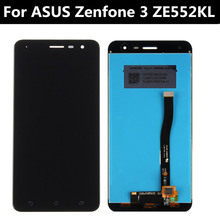 High quality ForASUS Zenfone3 ZE552kl  LCD Display + Touch Screen +tools 5.5 Digitizer Assembly Replacement Accessories